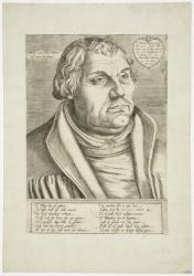 Cranach, Lucas, der Jüngere - Bildnis Martin Luther