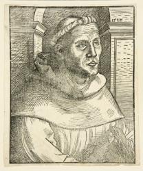 Cranach, Lucas, der Ältere - Luther als Mönch