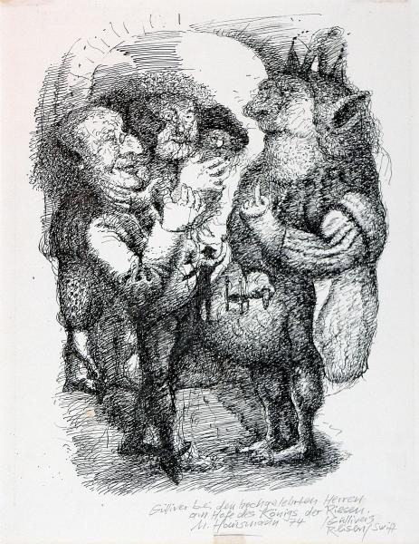 Gulliver bei den hochgelehrten herren des Königs