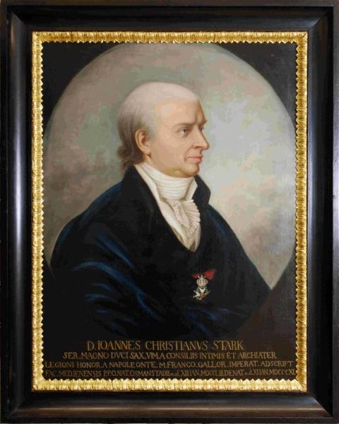 Porträt Johann Christian Stark d. Ä.