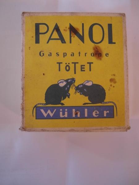 PANOL Gaspatrone tötet Wühler