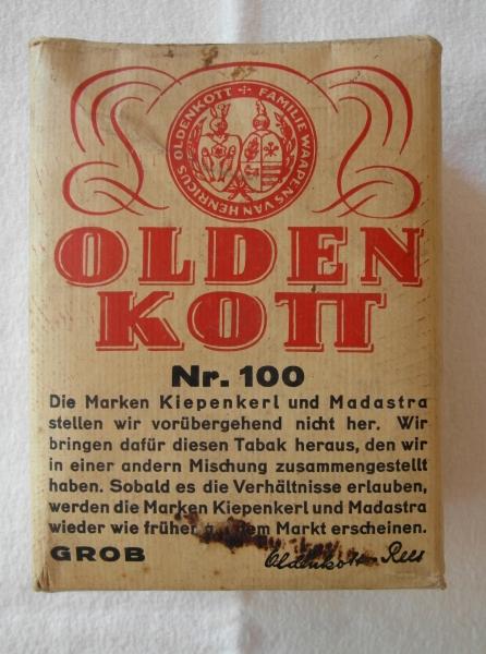 Olden Kott Tabak
