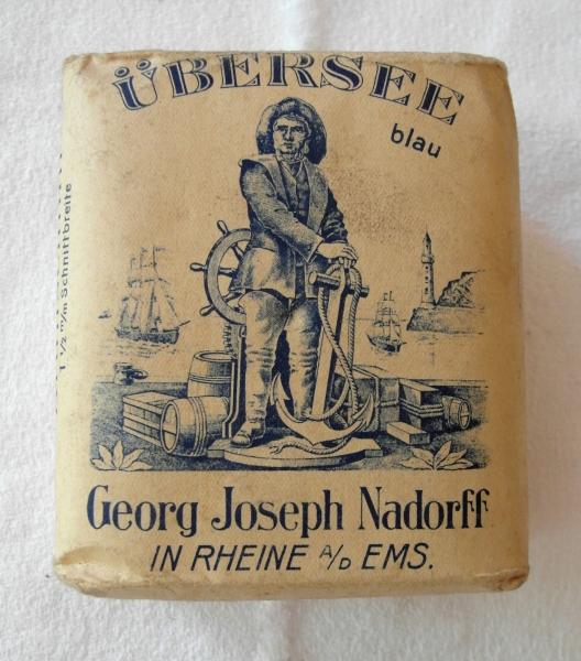 Rauchtabakpackung Georg Joseph Nadorff