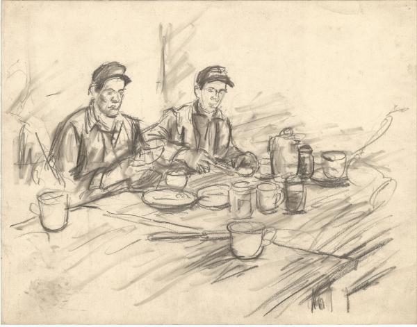 Arbeiterfrühstück