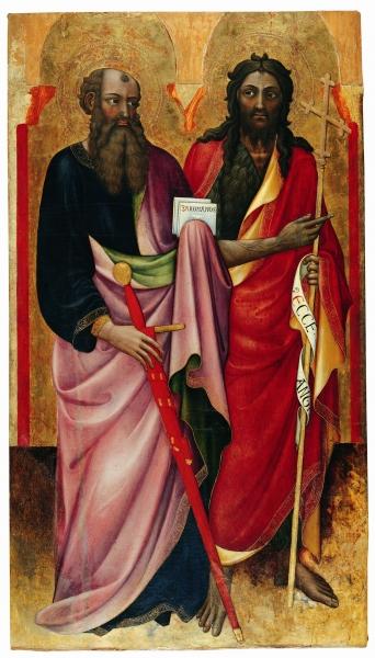 Apostel Paulus und Johannes der Täufer