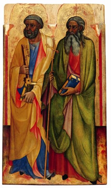 Apostel Petrus und Andreas
