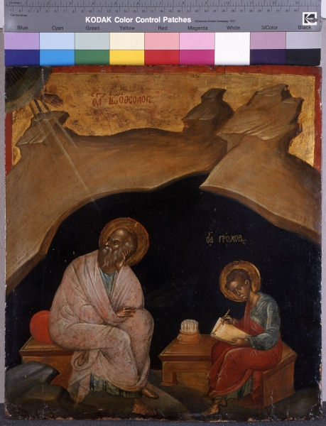 Evangelist Johannes und heiliger Prochoros