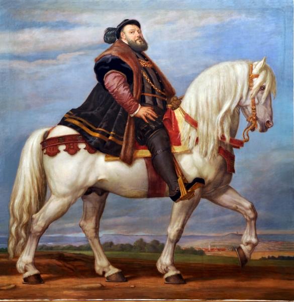 M 128_Hanfried zu Pferde