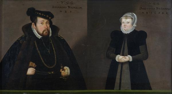 Johann Wilhelm und Dorothea Susanna von der Pfalz