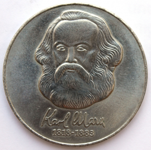 Me 217_20-Mark-Stück_Gedenkmünze zum Karl-Marx-Jahr