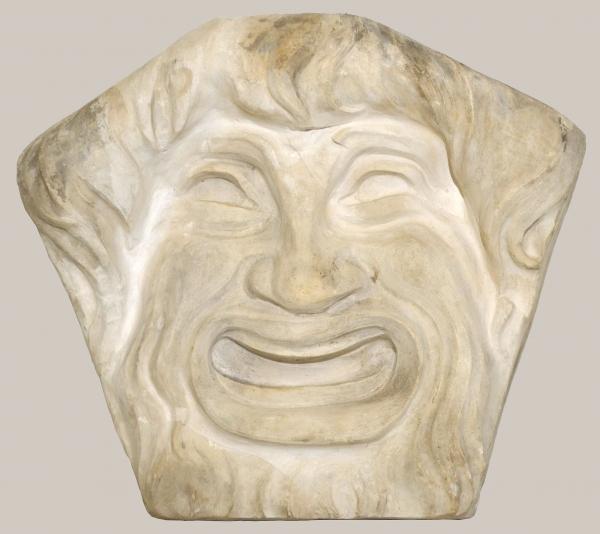 2018/63_Relief einer lachenden Maske