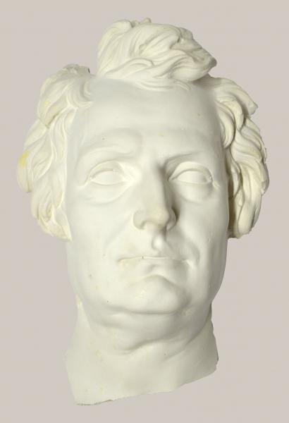 2018/78 a_Bruchteil einer Büste von Johann Gottlieb Fichte (Gesicht)