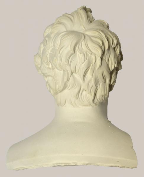2018/78 b_Bruchteil einer Büste von Johann Gottlieb Fichte (Hinterkopf)