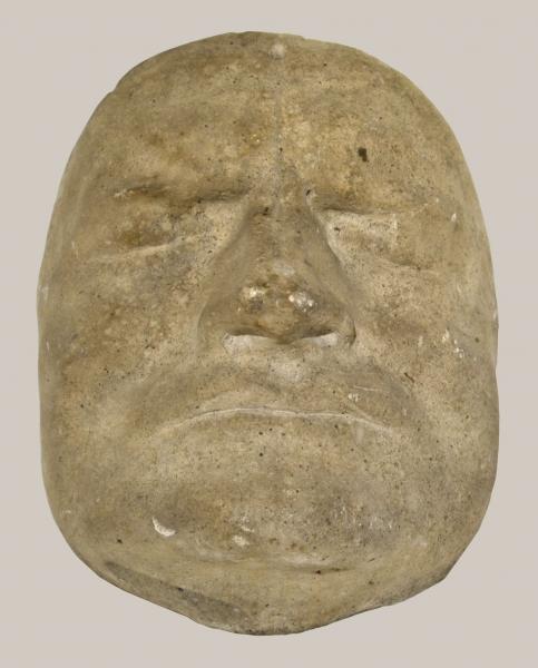 2018/81_Totenmaske von Isaac Newton