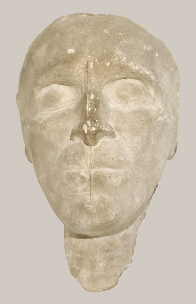 2018/82_Totenmaske von Gotthold Ephraim Lessing