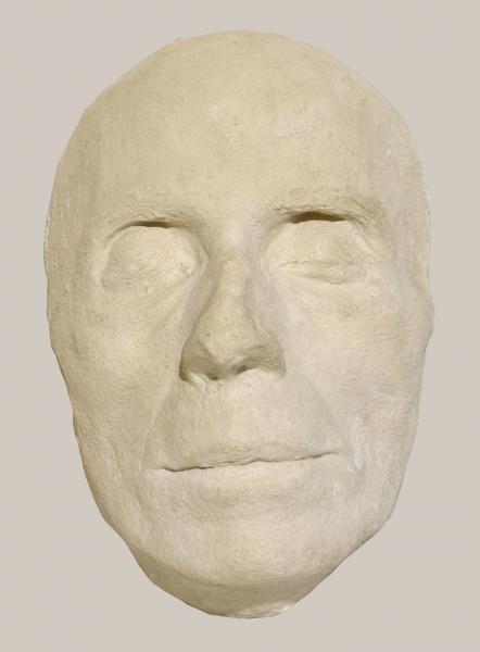 2018/84_Totenmaske von Dr. Oskar Kloeffel