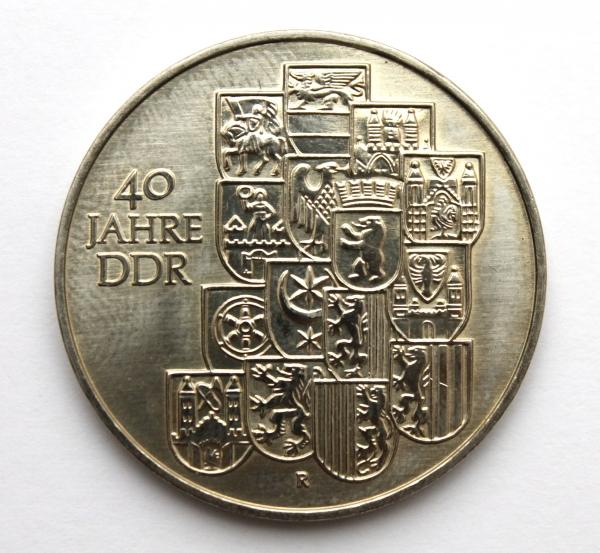Me 450_10-Mark-Stück 40 Jahre DDR