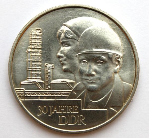 Me 57_20-Mark-Stück anlässlich des 30. Jahrestages der Gründung der DDR