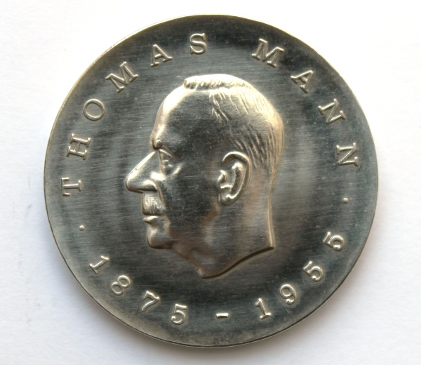 Me 258_5-Mark-Stück zum 100. Geburtstag von Thomas Mann