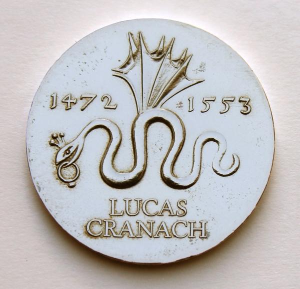 Me 303_20-Mark-Stück zum 500. Geburtstag von Lucas Cranach