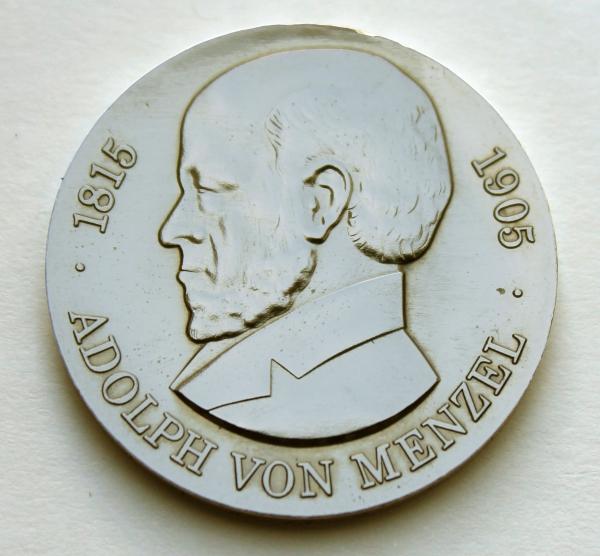 Me 187_5-Mark-Stück zum 75. Todestag von Adolph von Menzel