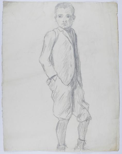 Skizze eines Jungen