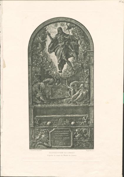 Auferstehung Christi nach Albrecht Dürer