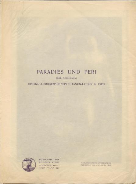 Paradies und Peri (Rob. Schumann)