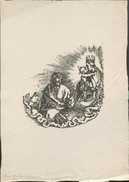 Albrecht Dürer: Die Offenbarung des Johannes (Frontispiz der