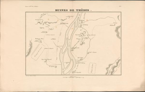 Ruines de Thèbes
