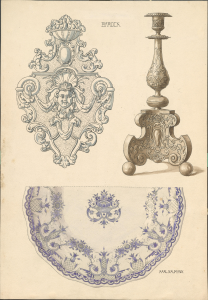 Barocke Ornamentik