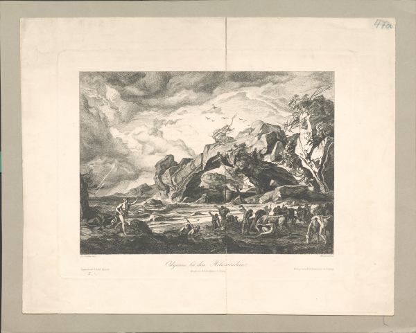 Odysseus bei den Heliosrindern