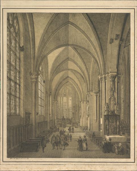 Seitenschiff des Kölner Doms