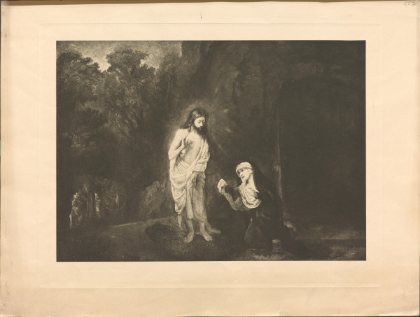 Christus erscheint Maria Magdalena