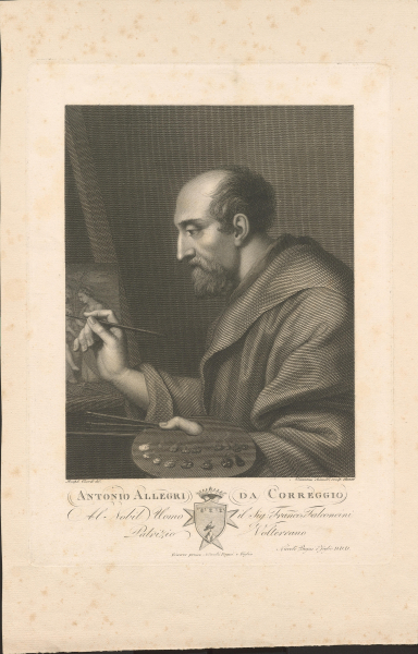 Malerporträt Correggio