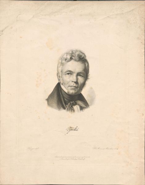 Bildnis Karl Friedrichs Schinkel