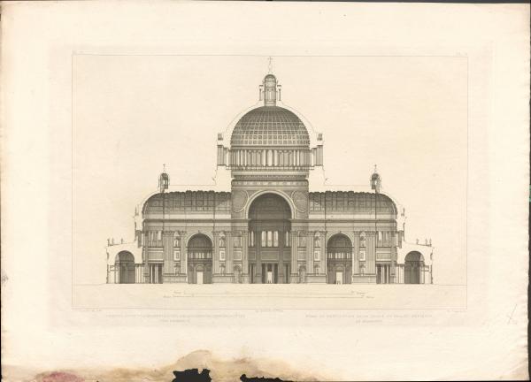 Architekturgrafik Bramante