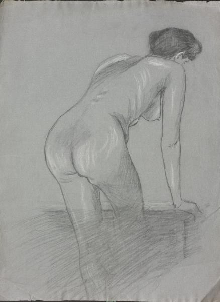 Akt einer nackten Frau