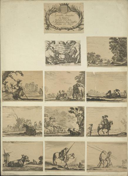 Stichserie von Callot