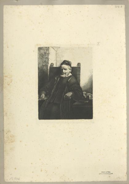 Jean Lutma (nach Rembrandt)