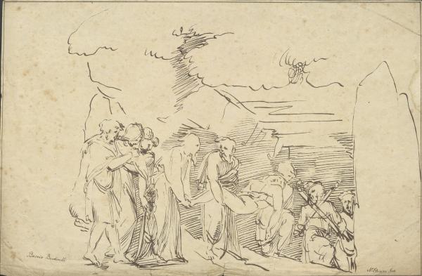 Die Grablegung Christi (nach Bandinelli)