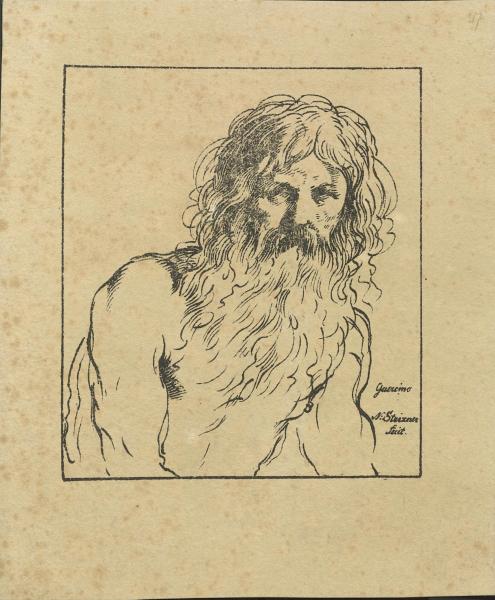 Porträt eines bärtigen Mannes