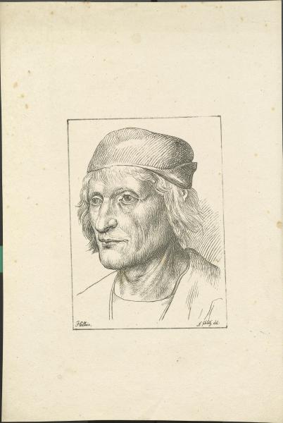 Porträt nach Holbein