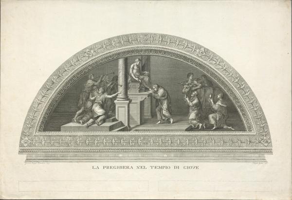 Gebet im Tempel des Jupiters (nach Romano)