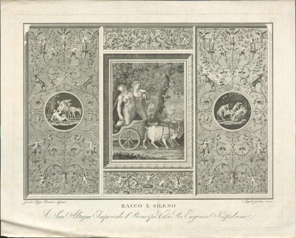 Bacchus und Silenus