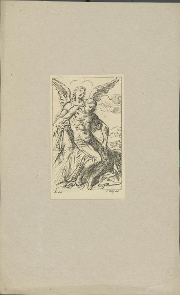 Christus von Engeln getragen