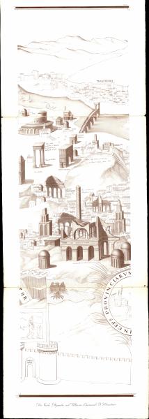 mehrteilige Karte von Rom