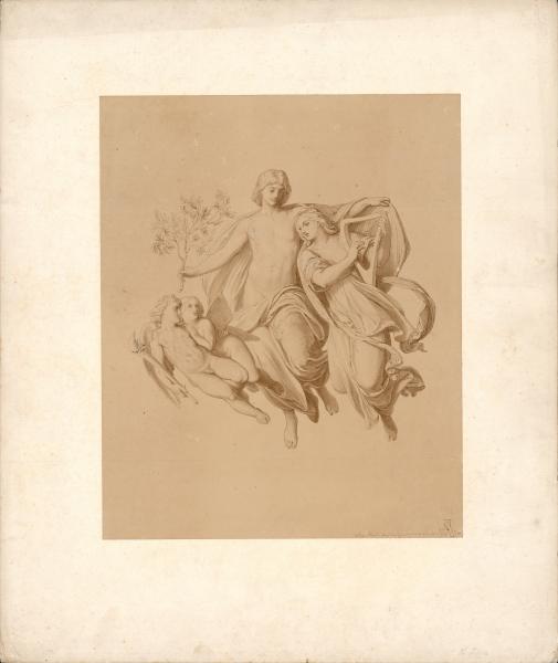 Szene aus der Mythologie