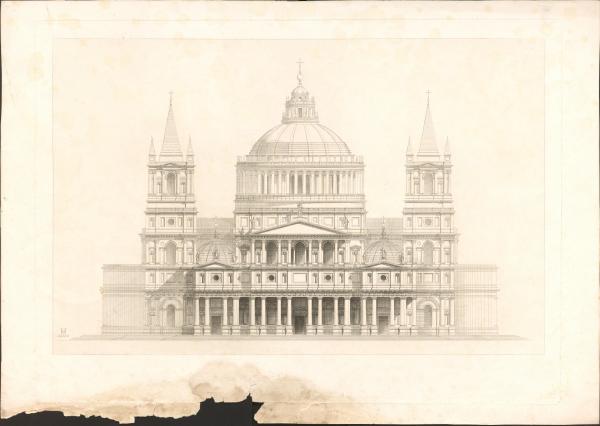 unbeschriftete Architekturgrafik