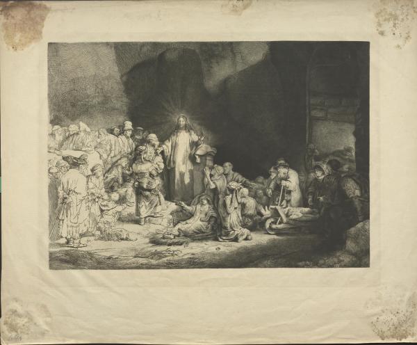 Jesus heilt die Kranken